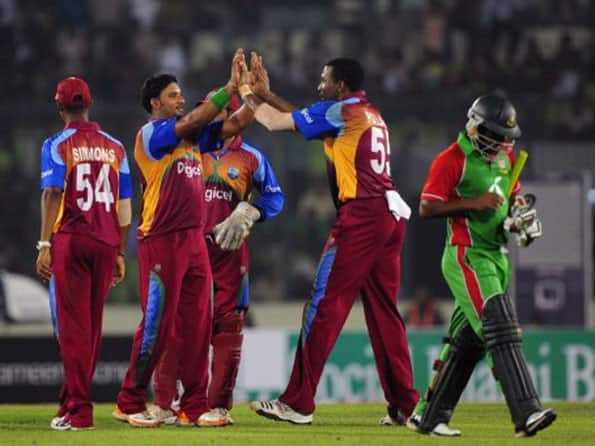 West Indies overcome Bangladesh by 40 runs in first ODI