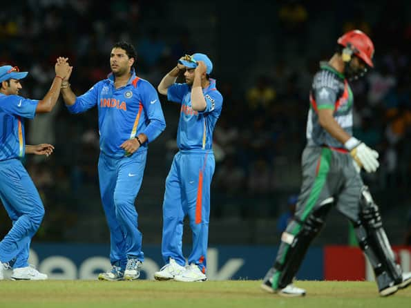 ICC World T20 2012: India register hard-fought win over Afghanistan in Colombo