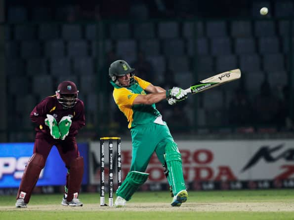 AB de Villiers' hundred to South Africa's rescue