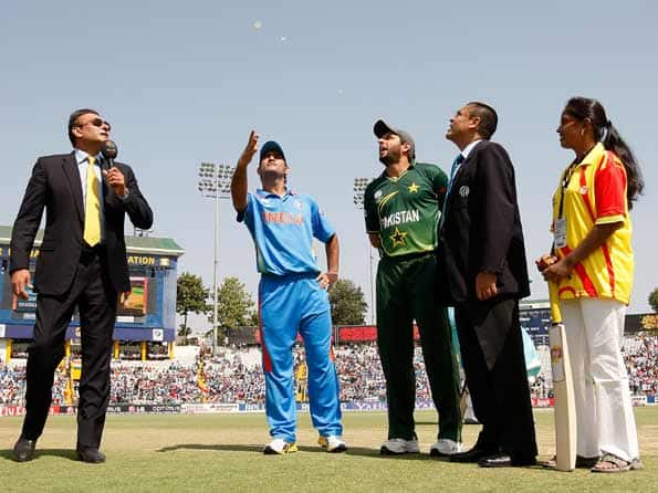 India win toss, opt to bat against Pakistan