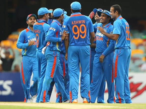 Vanquished Team India returns home