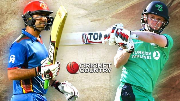 Afghanistan vs Ireland in UAE 2017-18