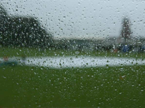 Rain plays spoilsport on day one of New Zealand-South Africa first Test at Dunedin