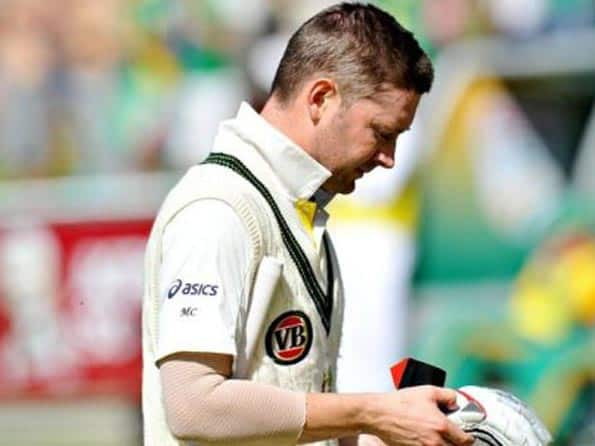 Michael Clarke shocked by Australia's batting collapse