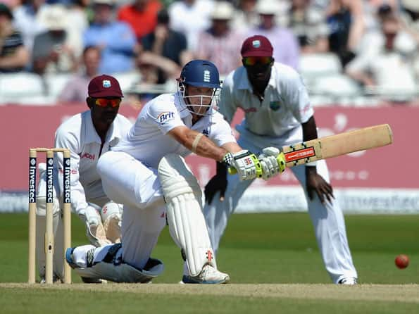 England lose early wickets after Tino Best records highest score
