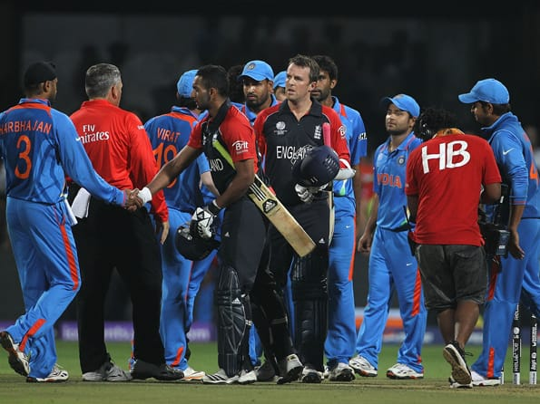 India-England game of fluctuating fortunes ends in a sensational tie!