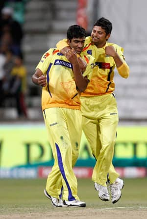 Chennai overcome Kolkata in a close encounter