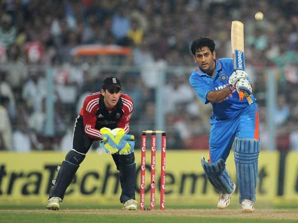Dhoni says India were fortunate to score 270 in the final ODI