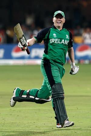 Ireland ride on sensational O'Brien to shock England