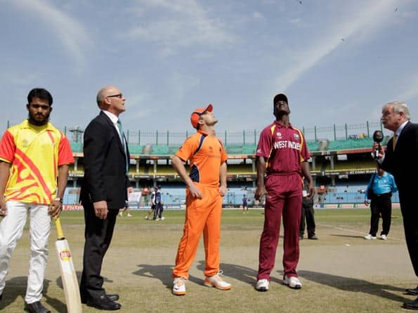 Netherlands choose to bowl first against West Indies