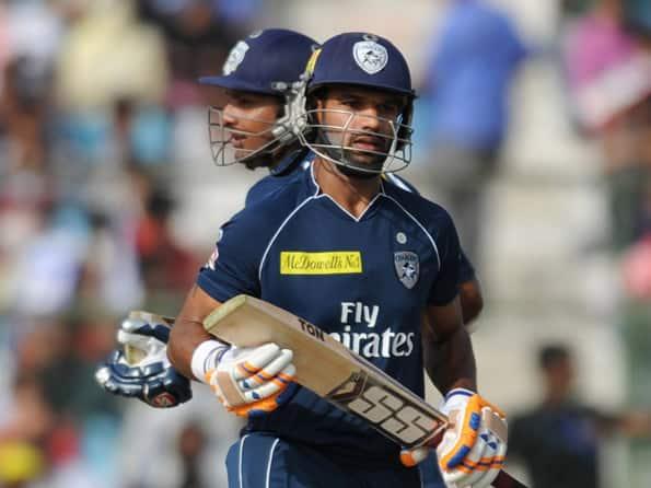 Dhawan, Sangakkara fire Deccan Chargers to 196 against Rajasthan Royals in IPL 2012