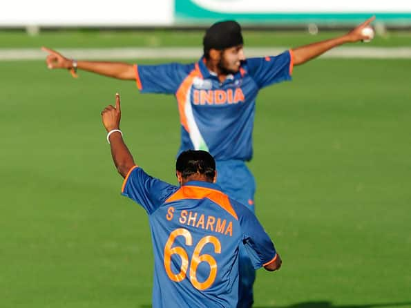 India Under-19 cricketer Harmeet Singh felicitated by college