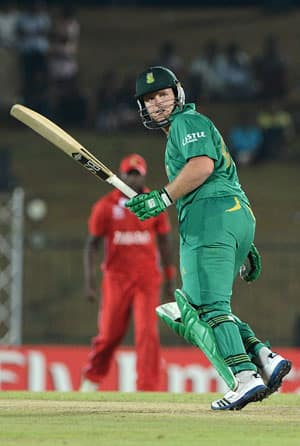 ICC T20 World Cup 2012: South Africa stroll to victory over Zimbabwe