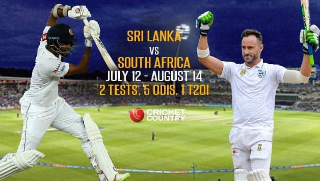South Africa in Sri Lanka,  2018