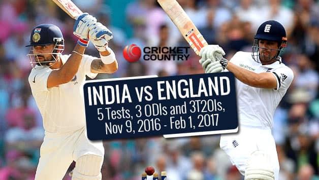 India vs England 2016-17