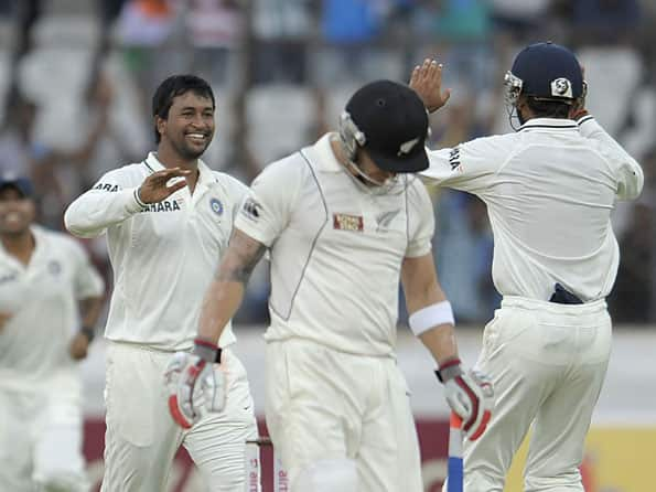 Live Cricket Score: India vs New Zealand, 1st Test at Hyderabad - Day three