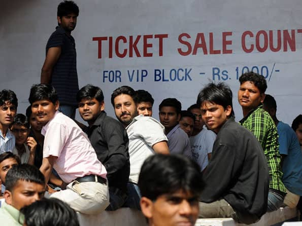 IPL 2012: Black marketeers have a field day ahead of KKR-PWI clash