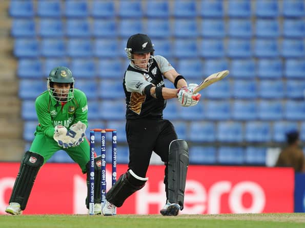 ICC World T20 2012: Brendon McCullum' s century fires New Zealand to 191