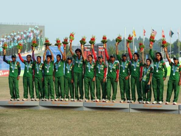 Bangladesh women's team to practice in India
