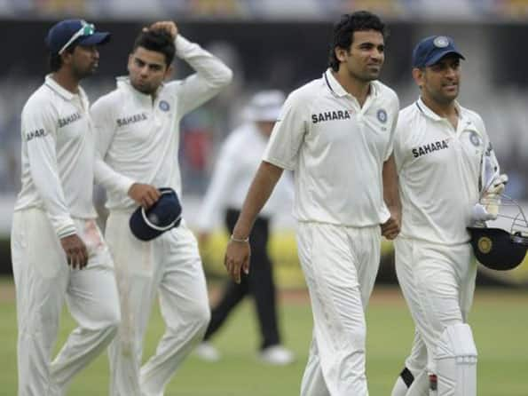 Bad weather interrupts third day's play between India-New Zealand