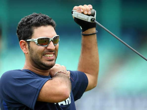 Yuvraj Singh: Can't wait to get on the field