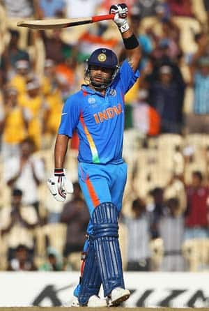 Kohli slams maiden World Cup half-century as India make merry