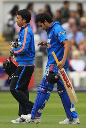 Injured Rohit Sharma out of ODI series