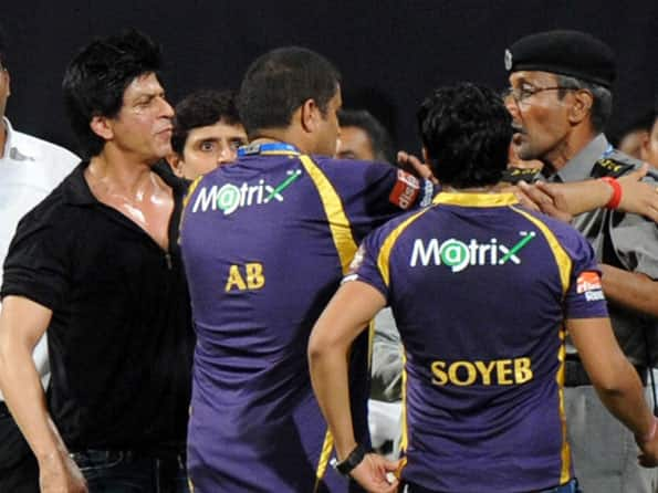IPL 2012: Case for offence against Shah Rukh Khan after Wankhede brawl