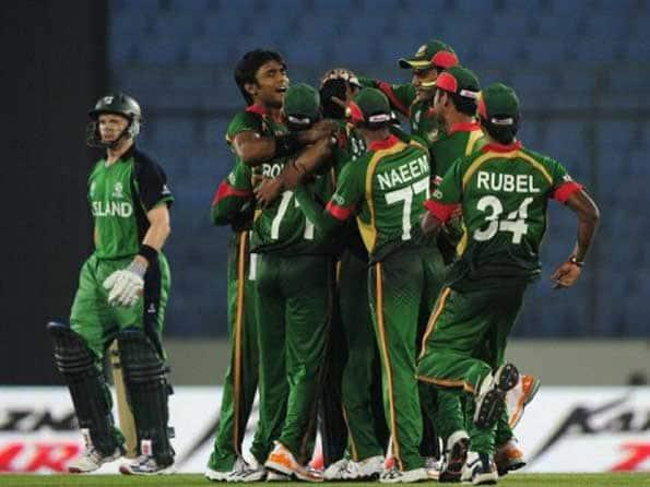 Shakib Al Hasan salutes fans after win