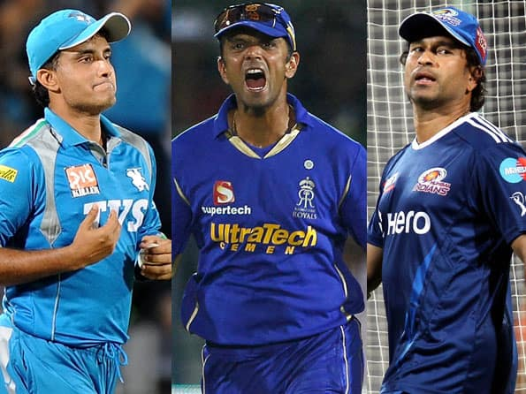 Ganguly, Dravid & Tendulkar stand tall in a young man's game