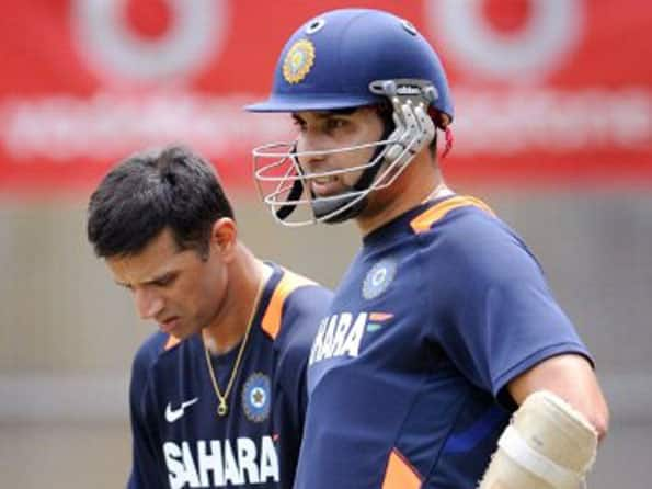 Pacer from PoK impresses Rahul Dravid during nets