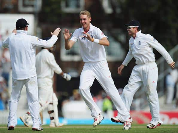 England players lead in series statistics