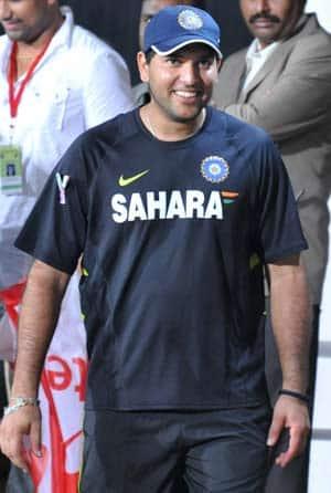 Yuvraj Singh's comeback steals spotlight at Vizag