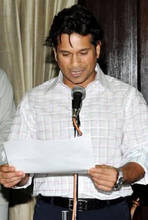 Tendulkar should also work for common man as a Parliamentarian: Gavaskar