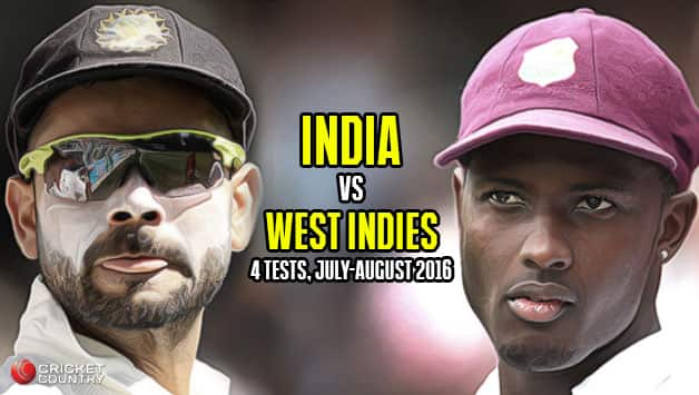 India in West Indies,  2016