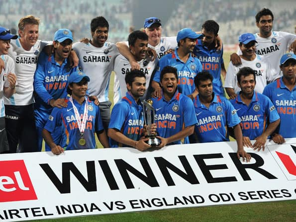 England fold to spinners as India claim series whitewash