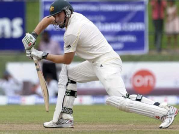 Marsh, Hussey half-centuries steady Australia in third Test