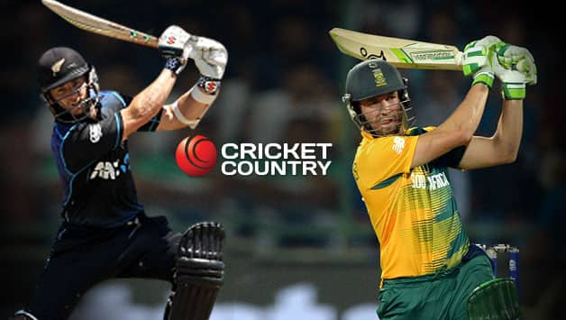 New Zealand vs South Africa 2017