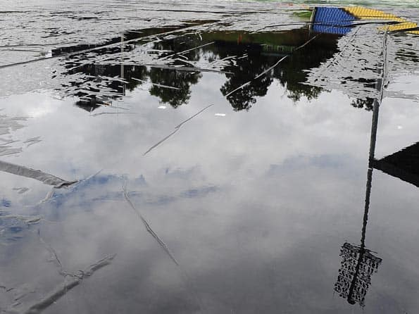 ICC T20 World Cup 2012: Rain stops play during Ireland-West Indies match