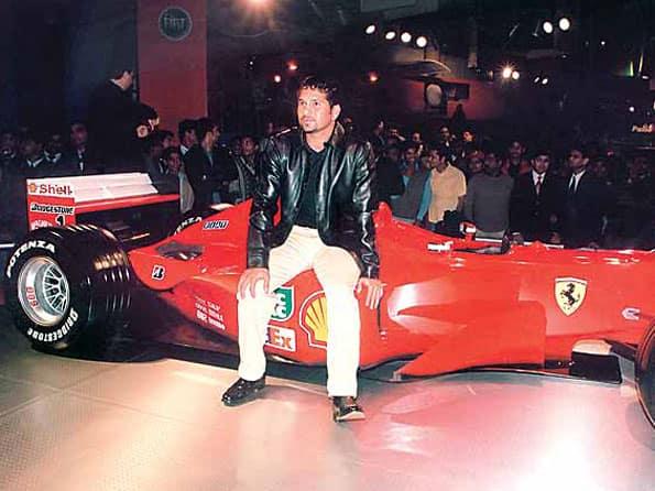 Sachin's Ferrari bought by Surat businessman