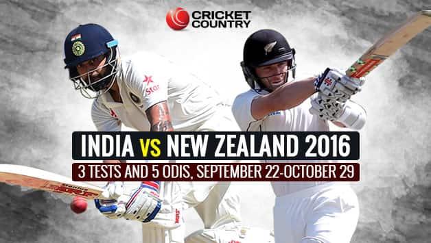 India Vs New Zealand 2016