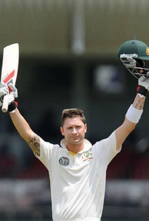 Australia clinch Test series 1-0 as captain Clarke shines with bat