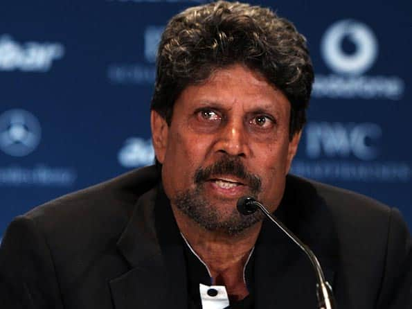 Cricketers should head cricket bodies, says Kapil Dev
