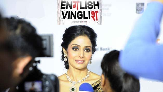 Humour: After English Vinglish s success, Sridevi launches English-speaking course for cricketers