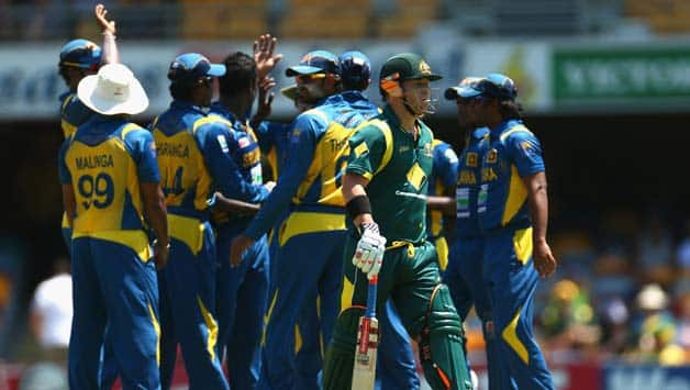 Australia bowled out for lowest ODI total against Sri Lanka in third tie at Brisbane