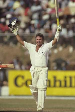 When Allan Lamb scored 18 runs off the last over to register a miraculous win against Australia