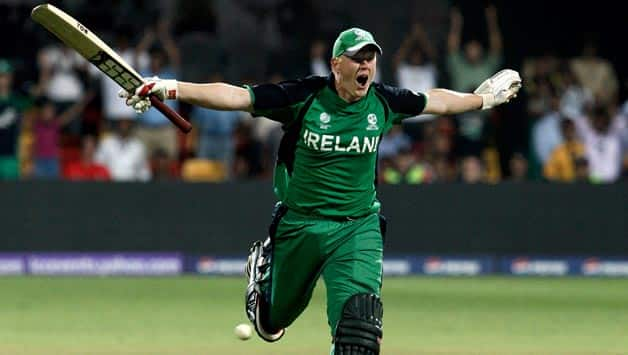Kevin O'Brien against England, World Cup 2011 | Image Source: ICC