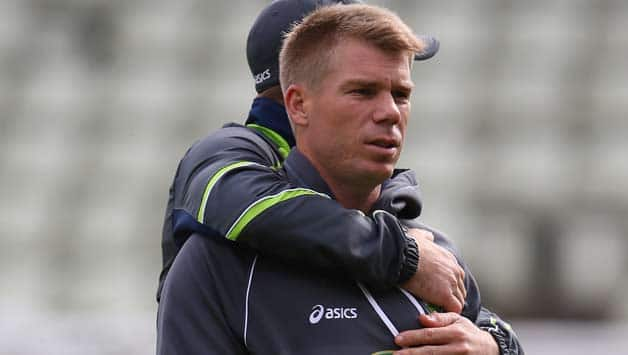 David Warner to face disciplinary hearing on Thursday for altercation with Joe Root