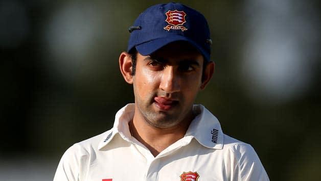 Gautam Gambhir's lean patch continues in County cricket