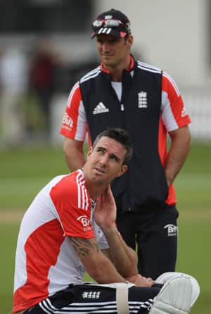Kevin Pietersen crossed the line by sending text messages to South African cricketers: Andrew Strauss